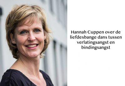 podcast, Hannah Cuppen, liefdesbang, verlatingsangst, bindingsangst, liefdesbange dans