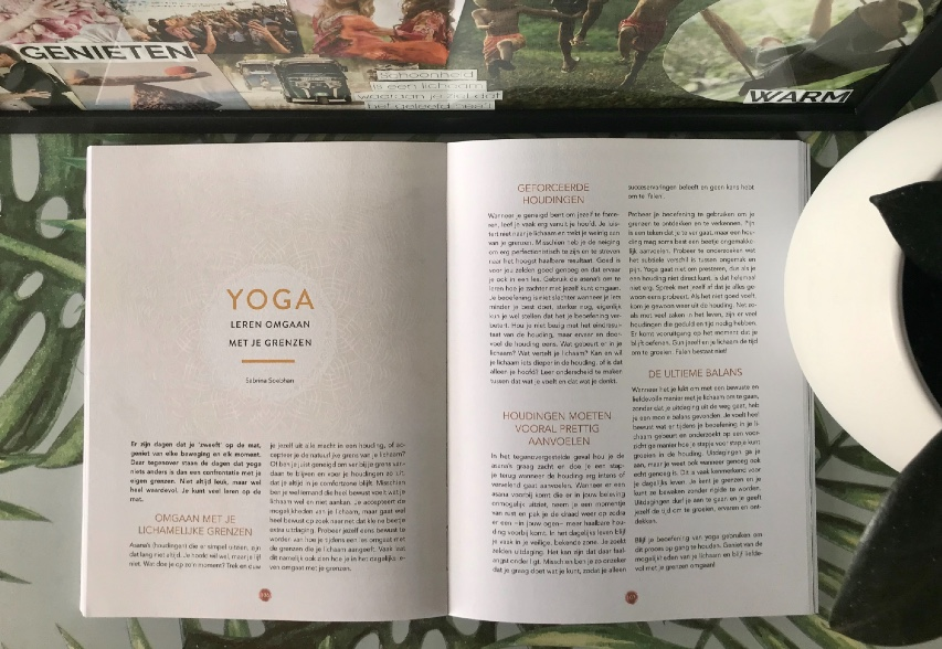 Inspirerend Leven, Sabrina Soebhan, self care & rituelen, yoga Rijswijk, yoga leert je omgaan met grenzen